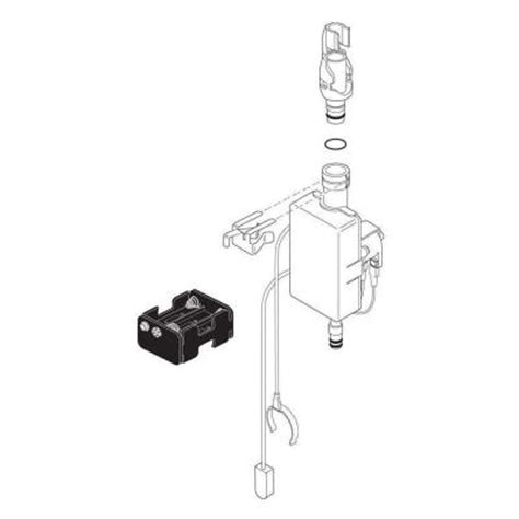 delta solenoid assembly for trinsic touch2o kitchen faucet