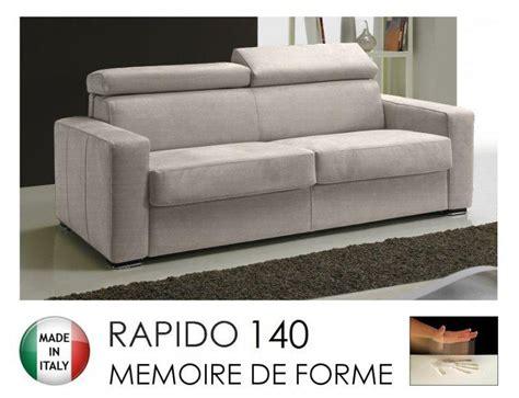 matelas pour canapé rapido canape rapido sidney memory matelas 140 14 190 cm memoire