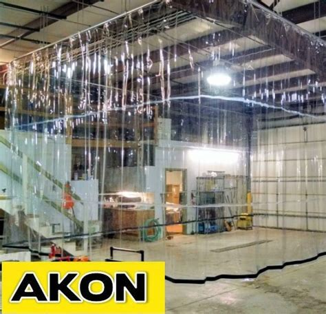 industrial warehouse draft curtains akon curtain and