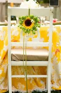 Sunflower Wedding Flowers Ideas