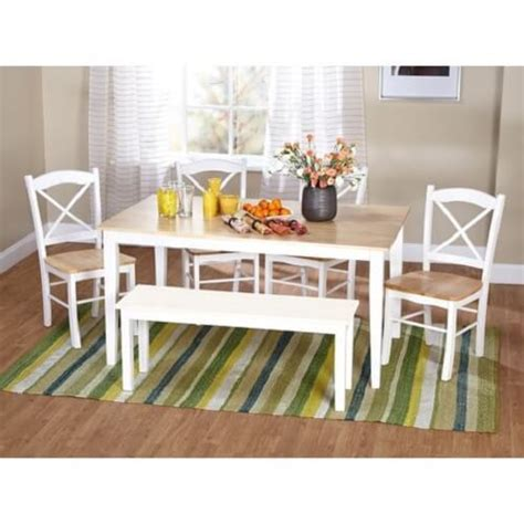 attractive picnic style kitchen table