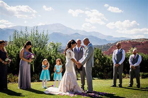 tim s garden of the gods wedding top colorado