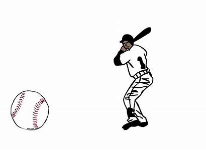 Baseball Animated Player Moving Clipart Giphy Roux