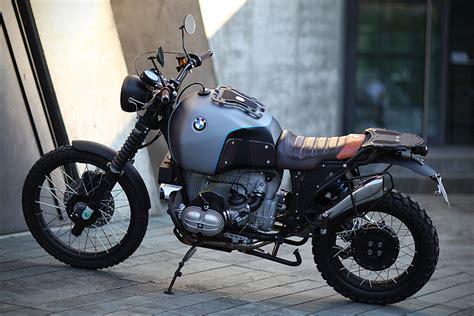 Bmw R100 Gs 'glober' By Er Motorcycles