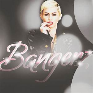 Bangerz || Miley Cyrus || Album Art by ...