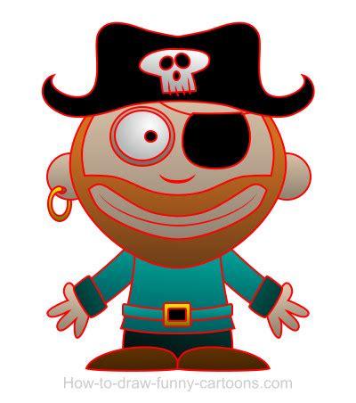 drawing  pirate cartoon