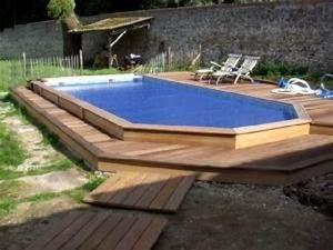 Piscine A Enterrer : piscine bois gardipool ~ Zukunftsfamilie.com Idées de Décoration
