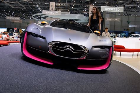 citroen sports car car citroen survolt sports car concept debuts at 2010