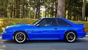 93 Mustang GT Coupe | Fox body mustang, Blue mustang, Mustang gt