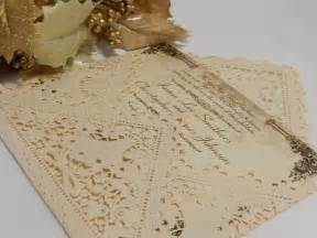 lace wedding invitations vintage lace wedding invitations for classical look