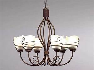 Lustre Salle A Manger : luminaire classique pour salle manger lustre rouille sampa ~ Teatrodelosmanantiales.com Idées de Décoration