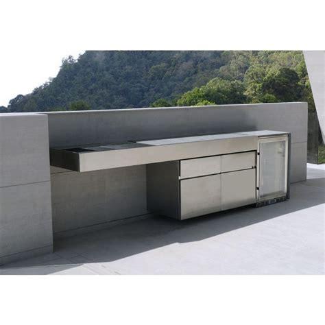 Edelstahl Outdoor Küche by Fesfoc Outdoor K 252 Hlschrank 50 215 60 Edelstahl Satiniert