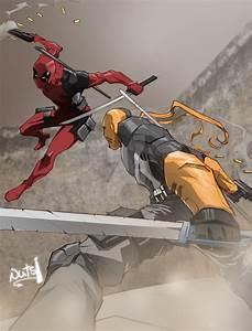 Deadpool Vs Deathstroke (Battle of the Wilsons) by ...