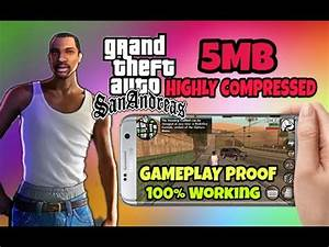 GTA SA Highly Compressed For Android Free Download - YouTube