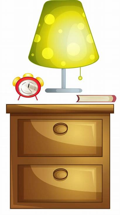 Clipart Stand Night Lamp Nightstand Transparent Library