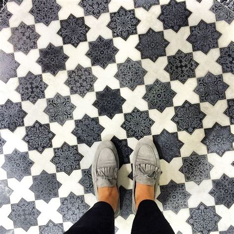 tile floors and shoes on