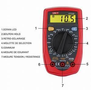 Utilisation D Un Multimètre Digital : multim tre etekcity uni t ut33d un bon voltm tre d 39 entr e de gamme ~ Gottalentnigeria.com Avis de Voitures