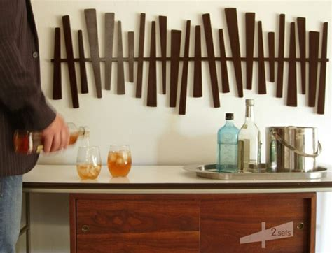 deco murale cuisine design deco murale design bois