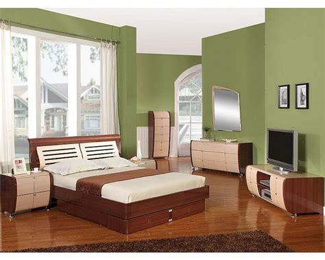 modern   italy  tone storage bedroom set
