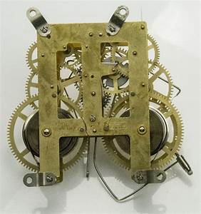 Mechanical Clock Movement Manual Wind For Mantle Kitchen