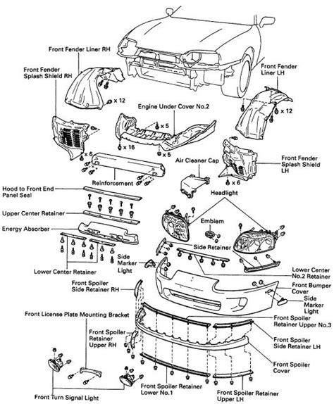 95 Toyotum Supra Engine Diagram mike s 94 supra turbo