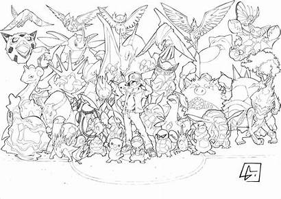Pokemon Coloring Pages Beast