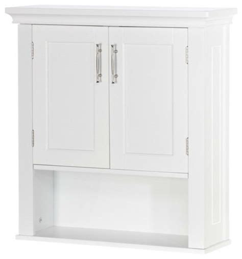 White Bathroom Wall Cabinet With Drawers by White Wood Bathroom Wall Mounted Storage Cabinet With