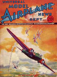 Model Airplane News Cover For September  1933