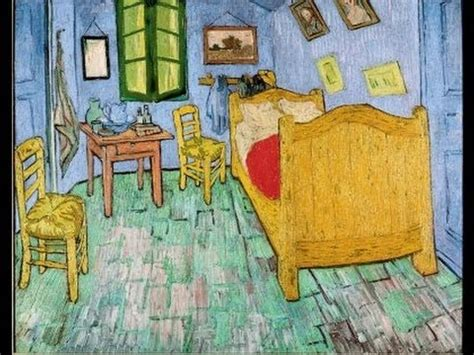 amsterdam van goghs  yellow house  bedroom