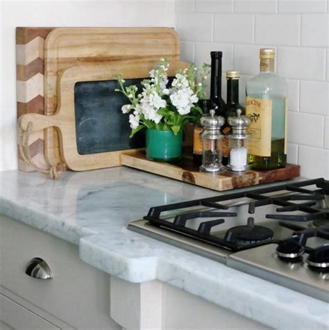 Ideas To Decorate Kitchen Countertops - kitchen styling how to organise your kitchen bench the