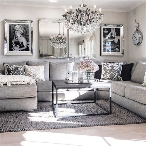 White Sectional Living Room Ideas by Best 25 Silver Living Room Ideas On