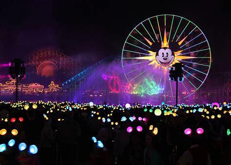 disneyland colors disney california adventure world of color theme park