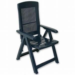 Garten hochlehner klappstuhl kunststoff sessel stuhl blau for Feuerstelle garten mit pflanzkübel blau kunststoff