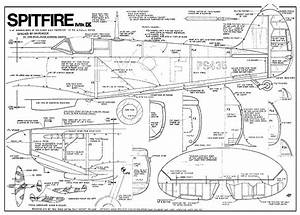 Spitfire Ix 48in Plans - Aerofred