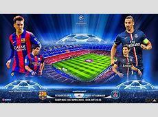 Alineación BarcelonaPSG Cuartos Champions vuelta