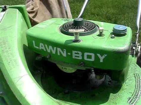 scored  bricktop lawnboy lawnmower youtube