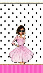Cute Girly Pink Dress Wallpaper iPhone | 2020 3D iPhone ...