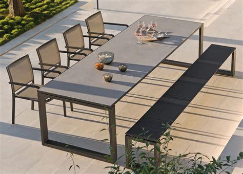 manutti fuse garden table garden tables modern garden