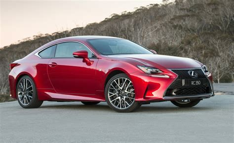 Lexus Rc 350 Coupe Now On Sale In Australia From ,000