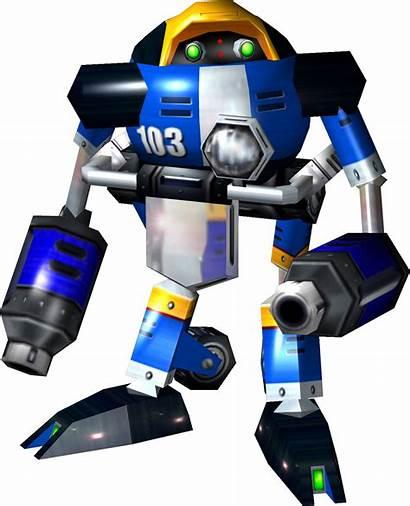 Sonic Adventure 103 Robots Badniks Delta E103