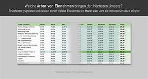 Einnahmen Ausgaben Rechnung Kleinunternehmer : ea tabelle pro 2018 ea ~ Themetempest.com Abrechnung