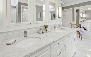 salle de bain comment choisir les bons comptoirs With salle de bain design avec evier en marbre