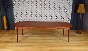 Table Ovale Scandinave : table ovale scandinave en teck de nils jonsson vintage 1960 ~ Teatrodelosmanantiales.com Idées de Décoration