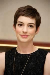 Anne Hathaway Short Pixie Haircut