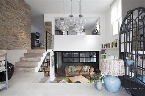 cap cuisine villiers sur marne maison ancienne avec extension contemporaine agence ea