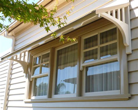 window canopies  timber window awnings  decorative
