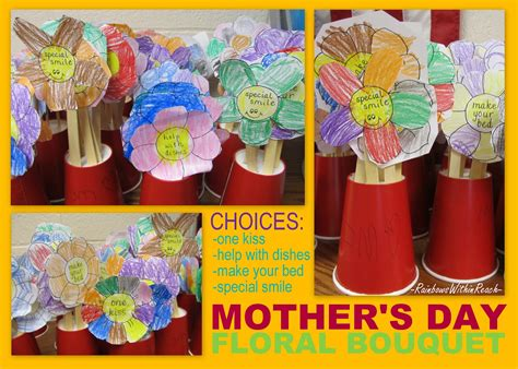 s day gift rhyme drseussprojects 321 | Mother's Day Bouquet for Kindergarten