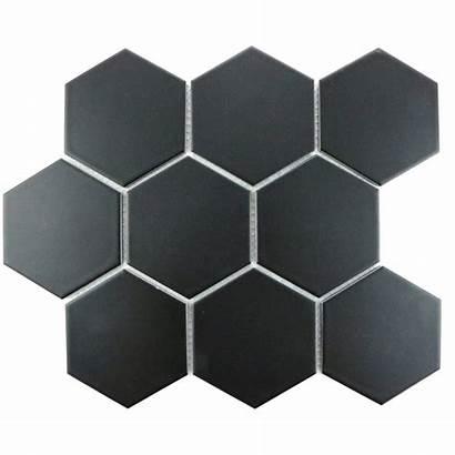 Floor Wall Hexagon Tile Tiles Matt Mosaic