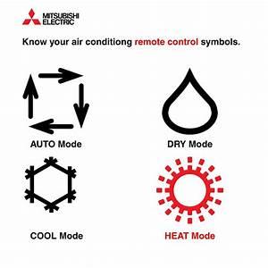 Mitsubishi Mini Split Remote Instructions