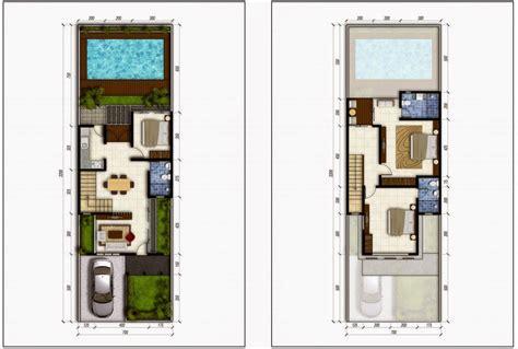 rumah minimalis sederhana  kolom renang